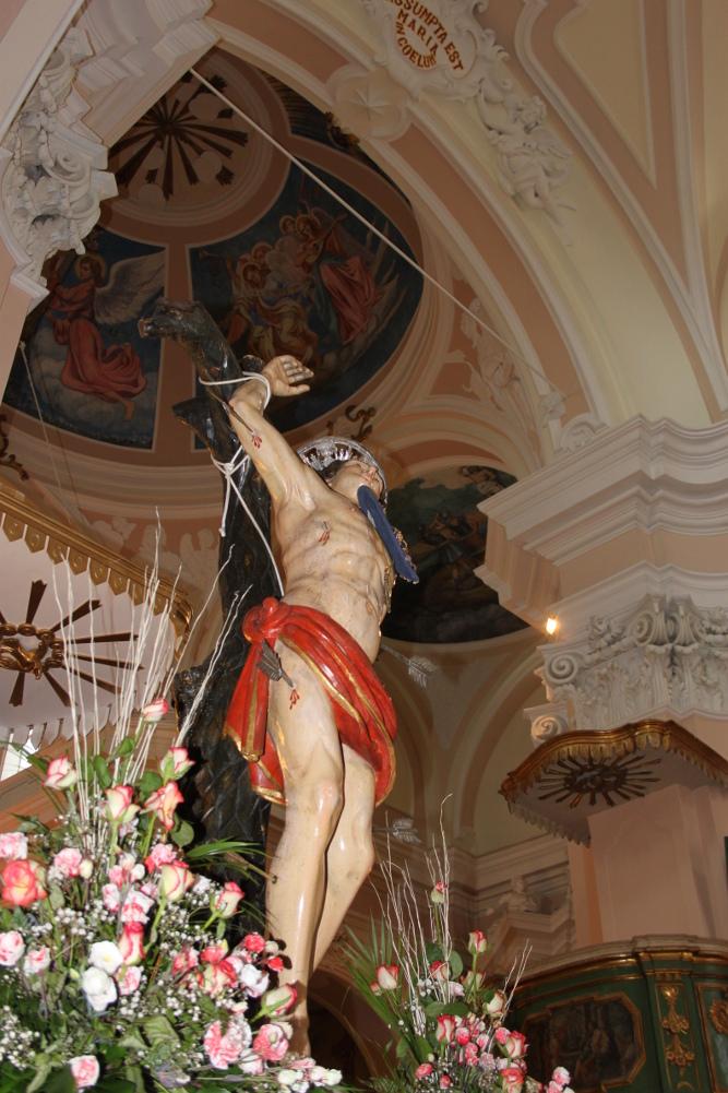 Processione San Sebastiano Martire – Capracotta 14 Luglio 2013