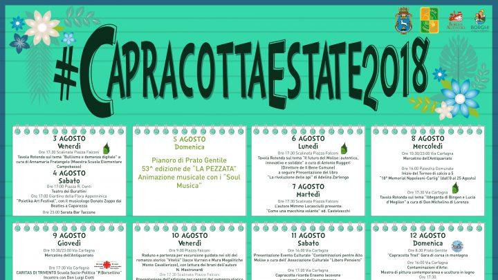 Programma Estate Capracottese 2018